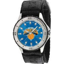 Game Time Official Team Colors. Nba-Vet-Ny Men'S Nba-Vet-Ny Veteran Custom New York Knicks Veteran Series Watch