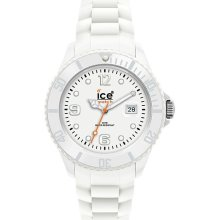 Ice Sili Forever 101962 White Silicone Strap Women's Watch
