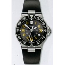Large Black Dial Summit Xlt Watch With Black Synthetic Strap