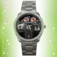 new listing 2012 Nissan Xterra steering wheel sport metal watch - Silver - Stainless Steel