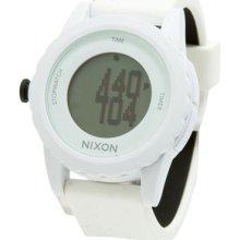 Nixon Genie White Silicone Strap Digital A326100 Unisex Watch