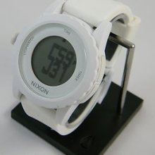 Nixon The Genie Wrist Watch In All White (100m, With Box)