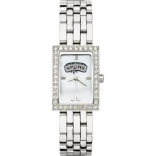 San Antonio Spurs NBA Womens Allure Stainless Steel Watch ...