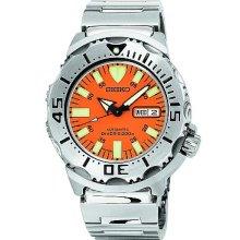 Seiko Men's Automatic Orange Monster Dive Watch SKX781