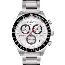 Tissot T0444172103100 Watch PRS 516 Mens - Silver Dial Stainless Steel Case Quartz Movement