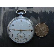 Very Rare Vintage Soviet USSR Watch ISKRA Russian Pocket watch MCHZ 2 Made in 1950s