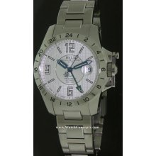 Ball Engineer Hydrocarbon Magnate GMT 40mm Watch - Silver Dial, Stainless Steel Bracelet GM2098C-SCAJ-SL Sale Authentic Tritium