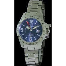 Ball Engineer Hydrocarbon Magnate GMT 40mm Watch - Blue Dial, Stainless Steel Bracelet GM2098C-SCAJ-BE Sale Authentic Tritium
