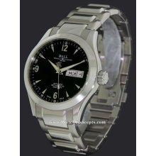 Ball Engineer I I wrist watches: Eng. I I Ohio Day/Date Black nm1020c-