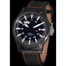 Ball Fireman wrist watches: Fireman Night Train nm1092c-l1b-bk
