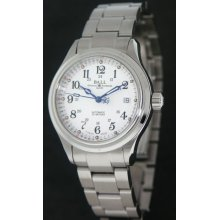 Ball Trainmaster wrist watches: Trainmaster 60 Seconds White nm1038d-s