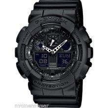 Casio G-shock Ga100-1a1 Mens X Large Black Watch - Gshock Watch Ga-100-1a1cu
