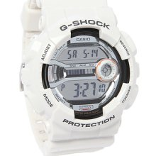 Casio G-Shock GD-110-2 LAP Mem Watch - WHT - white regular