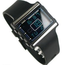 Casio Ldf10-1a Ladies Resin Poptone Vibration Alarm Digital Watch Ldf-10-7a