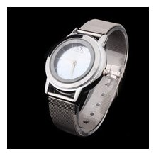 Fashion Silver White Stainless Steel women-Discount wholesale-Clearance Sale - Leather - Silver
