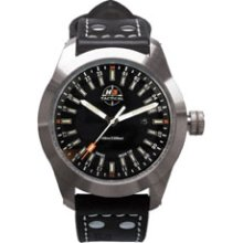 H3 Tactical Stealth Mission 24 Hour Dial Tritium Illuminated Watch H3.541271.12