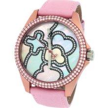 Jacob & Co. Swiss Unisex 40mm Pink Band Case Diamond Bezel Dial Watch 2.85ct