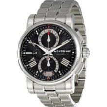 Montblanc Star Men's Stainless Steel Case Chronograph Automatic Watch 102376