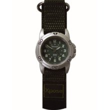 Sekonda Unisex Quartz Watch With Green Dial Analogue Display And Green Nylon Strap 3985.05