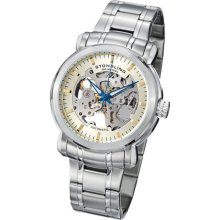Stuhrling Original 387 33115 Mens Classic Delphi Antium Automatic Skeleton Watch