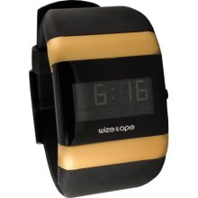Wize & Ope Unisex Classics Digital Watch Wo-005 With Black Dial And Touch Screen