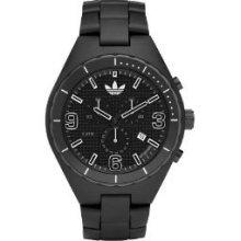 Adidas Adh2523 Unisex White Plastic Plastic Case Mineral Watch