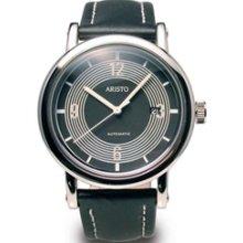 Aristo 4H190SL Retro Mercedes Dashboard Clock Design Swiss Automatic Watch