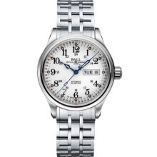 Ball Trainmaster 60 Seconds II Mens Watch NM1058D-S3J-WH