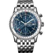Breitling Men's Navitimer World Blue Dial Watch A2432212.C651.443A