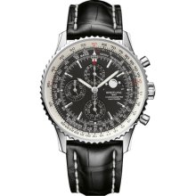 Breitling Navitimer 1461 Chronograph Automatic Black Dial Mens Watch A1937012-BA57