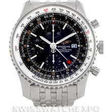 Breitling Navitimer World Chronograph Steel Watch A24322