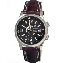 Carucci Ca1109bk-br Automatic Mens Watch