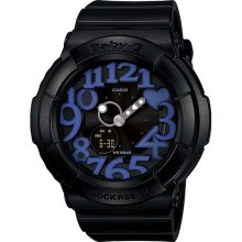 Casio Ladiess Ana-Digi Neon Illuminator Alarm BGA-134-1B Watch