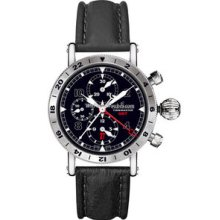 Chronoswiss Timemaster Chronograph GMT DLC Watch 7533GBK