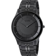 Citizen Black Gents Eco Drive Bracelet