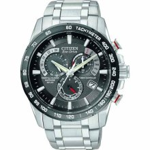Citizen Ecodrive Perpetual Atomic Mens Watch At400851e