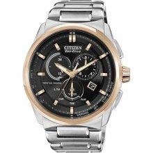 Citizen Ecodrive Perpetual Chronograph Mens Watch Bl548657e