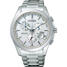 Citizen Exceed Ebs74-5101 Eco-drive Solar Power Atomic Radio Controlled Watch