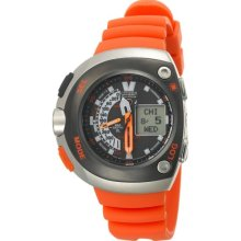 Citizen Men's JV0030-19F Eco-Drive Orange Imperial Dive Watch