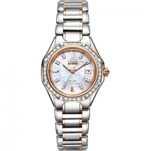 Citizen Signature Eco-Drive Octavia Diamond Ladies Watch EW2096-5 ...