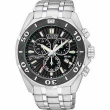 Citizen Signature Ecodrive Perpetual Chronograph Mens Watch Bl544058e