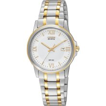 Citizen Watch, Womens Eco-Drive Two-Tone Stainless Steel Bracelet 28mm