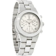 Concord Mariner Mens Silver Dial Swiss Chronograph Automatic Watch 0310107