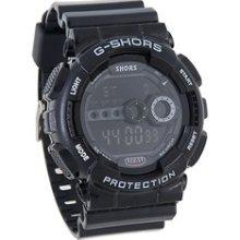 digital watches for kids Stylish Sports Digital Wrist Watch (Black)