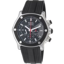 Ebel Men's Tekton Swiss Made Automatic Chronograph Rubber Strap Watch