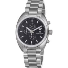 Emporio Armani Men s Quartz Chronograph Stainless Steel Bracelet Watch