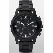 Fossil Dean Black Stainless Steel Mens Watch