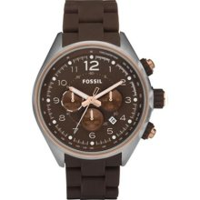 Fossil Flight Silicone Chronograph Mens Watch Ch2727