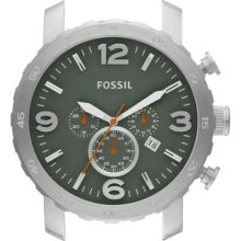 Fossil Nate Stainless Steel Watch Case - Green - C241004