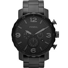 Fossil Nate Watch In Black